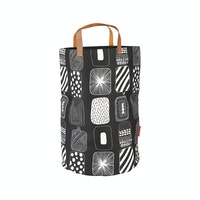 Myka_kids Black Scandi Storage Bin