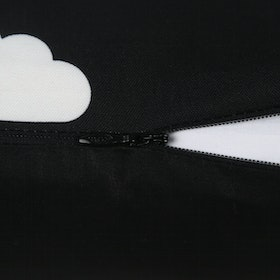 Myka_kids Cushion Cover40x40 - Black Clouds