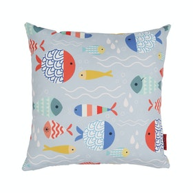 Myka_kids Cushion 40x40 - Colorful Fishes