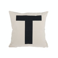Naratisa Cushion Cover Aksara - T