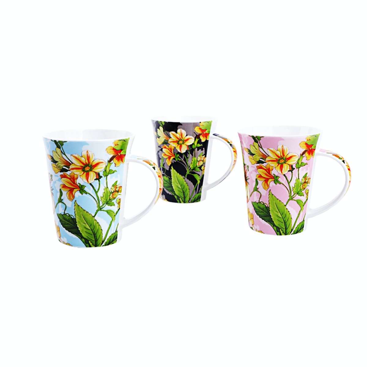 Nakami 3 Pcs New Bone Mug Set A053