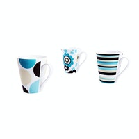 Nakami 3 Pcs New Bone Mug Set S160043