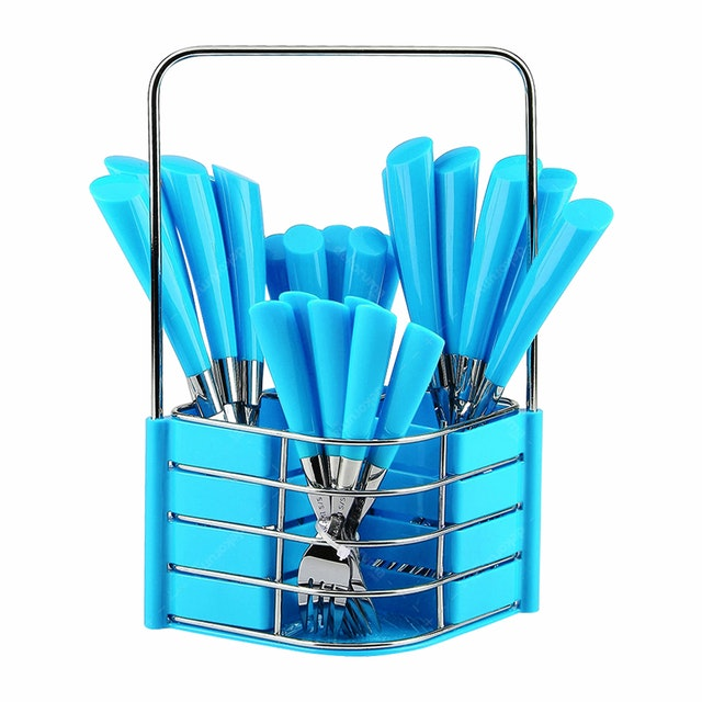 Nakami 25 Pcs Sendok Set Blue