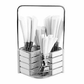 Nakami 25 Pcs Sendok Set White