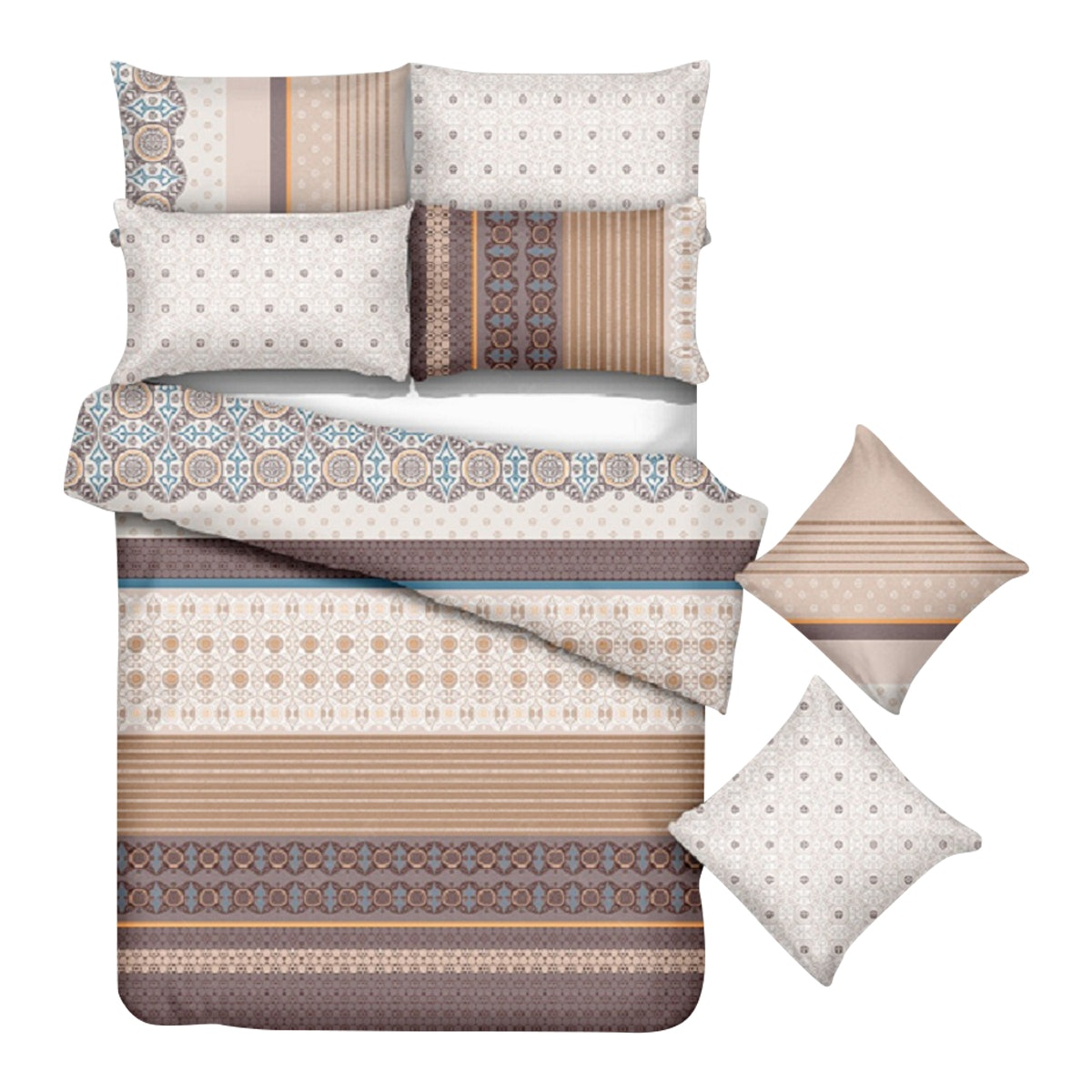 Kanaya Bed sheets set Aboyami 160x200x30cm