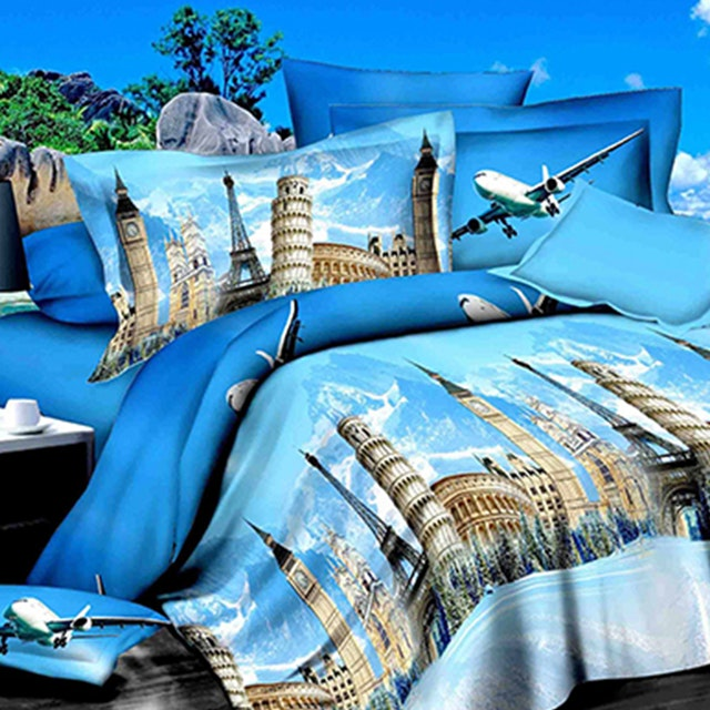 Kanaya Sheets Set Europa (Super King) 200x200x30cm