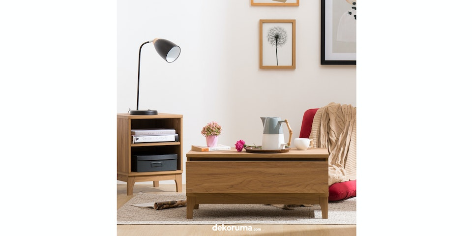Nara Coffee Table Single Drawer