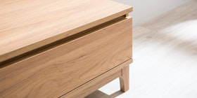 Heim Studio Nara Coffee Table Single Drawer
