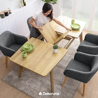 Heim Studio SETSU extendable dining table