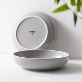 Danari MAKA Large Bowl 23 cm Light Grey