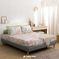 Linori Set Sprei Single Motif Kira 120x200x40cm