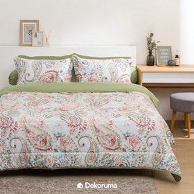 Linori Bed Cover Single Motif Kira 160x210cm