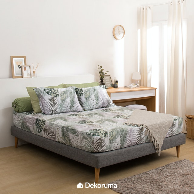 Linori Set Sprei Single Motif Yara 120x200x40cm