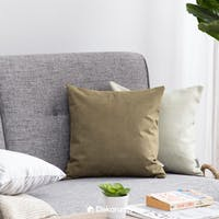 Linori Sarung Bantal Sofa 40x40 Rika - Deep Green