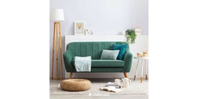 Heim Studio Jun Sofa 2 Seater Hijau