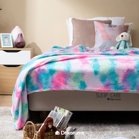 Linori Selimut Fleece Motif Kura Uk. 150x200cm