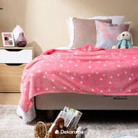 Linori Selimut Fleece Motif Soma Uk. 150x200cm