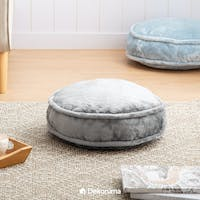 Linori FUMI Round Floor Cushion 45cm- GREY
