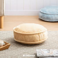Linori FUMI Round Floor Cushion 45cm - CREAM