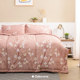 Linori Bed Cover Motif Dera - Double 230x230cm