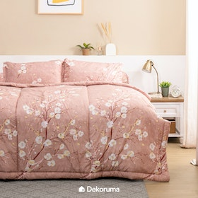 Linori Bed Cover Motif Dera - Single 140x230cm
