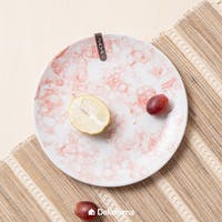 Java Piring Salad / Salad Plate - Red Bubble 21 cm