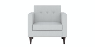 Nestudio Sofa - Nestudio Jimmy Jones One Seater Sofa Winter Grey