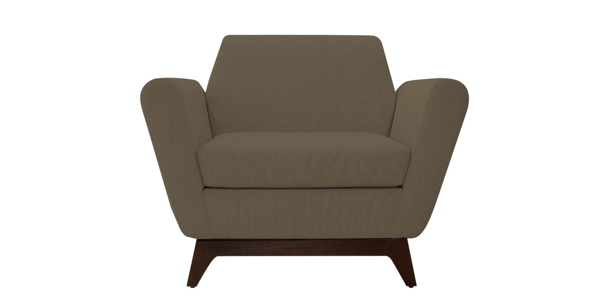 Nestudio Frankie Forte One Seater Sofa Tuscan Tan