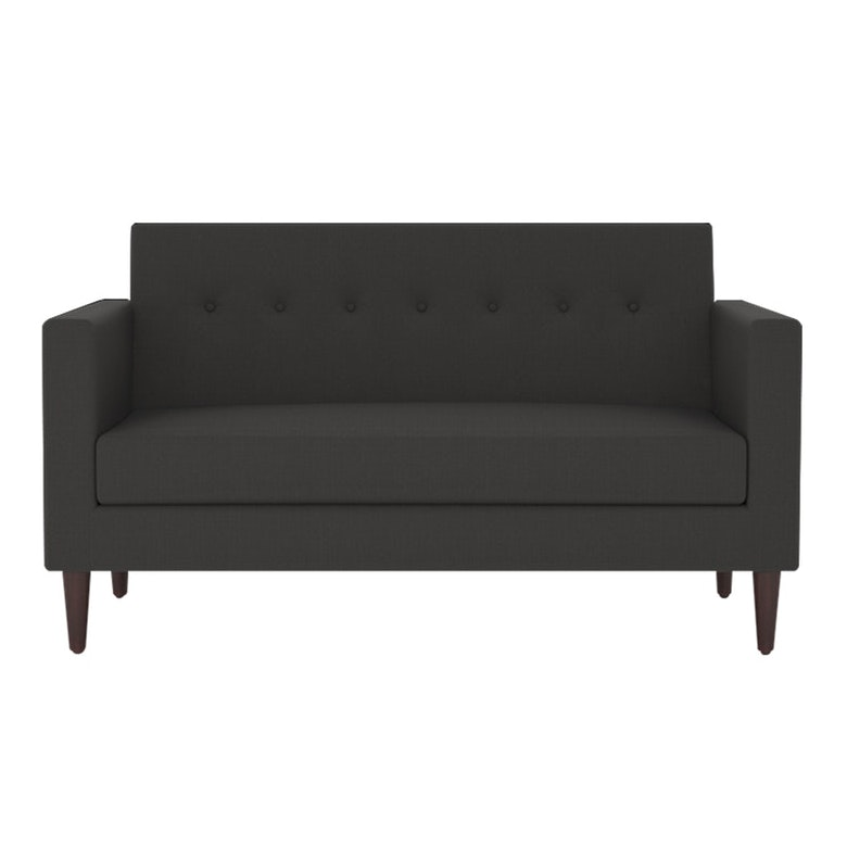 Nestudio Jimmy Jones Two Seater Sofa Granite Grey