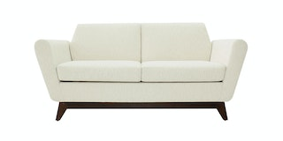 Nestudio Sofa - Nestudio Frankie Forte Two Seater Sofa White Chocolate