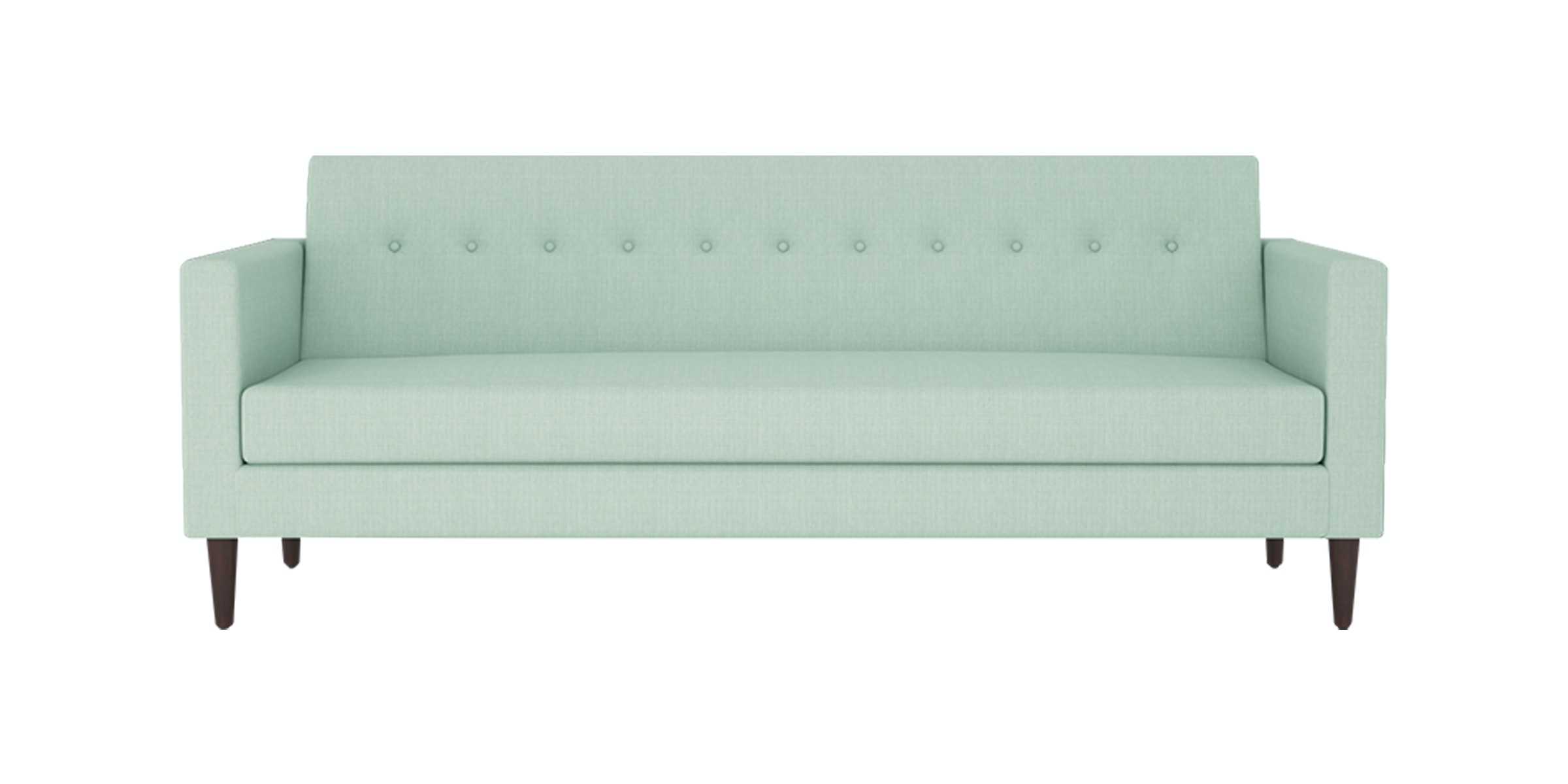 Nestudio Jimmy Jones Three Seater Sofa Azureish Mist