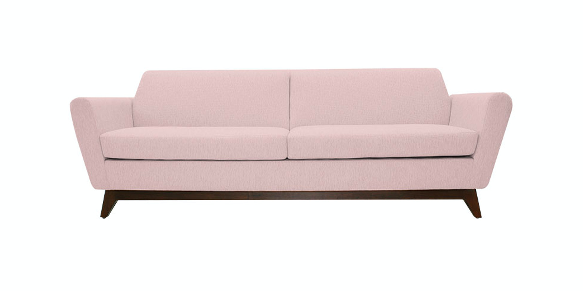 Nestudio Frankie Forte Three Seater Sofa Tea Rose