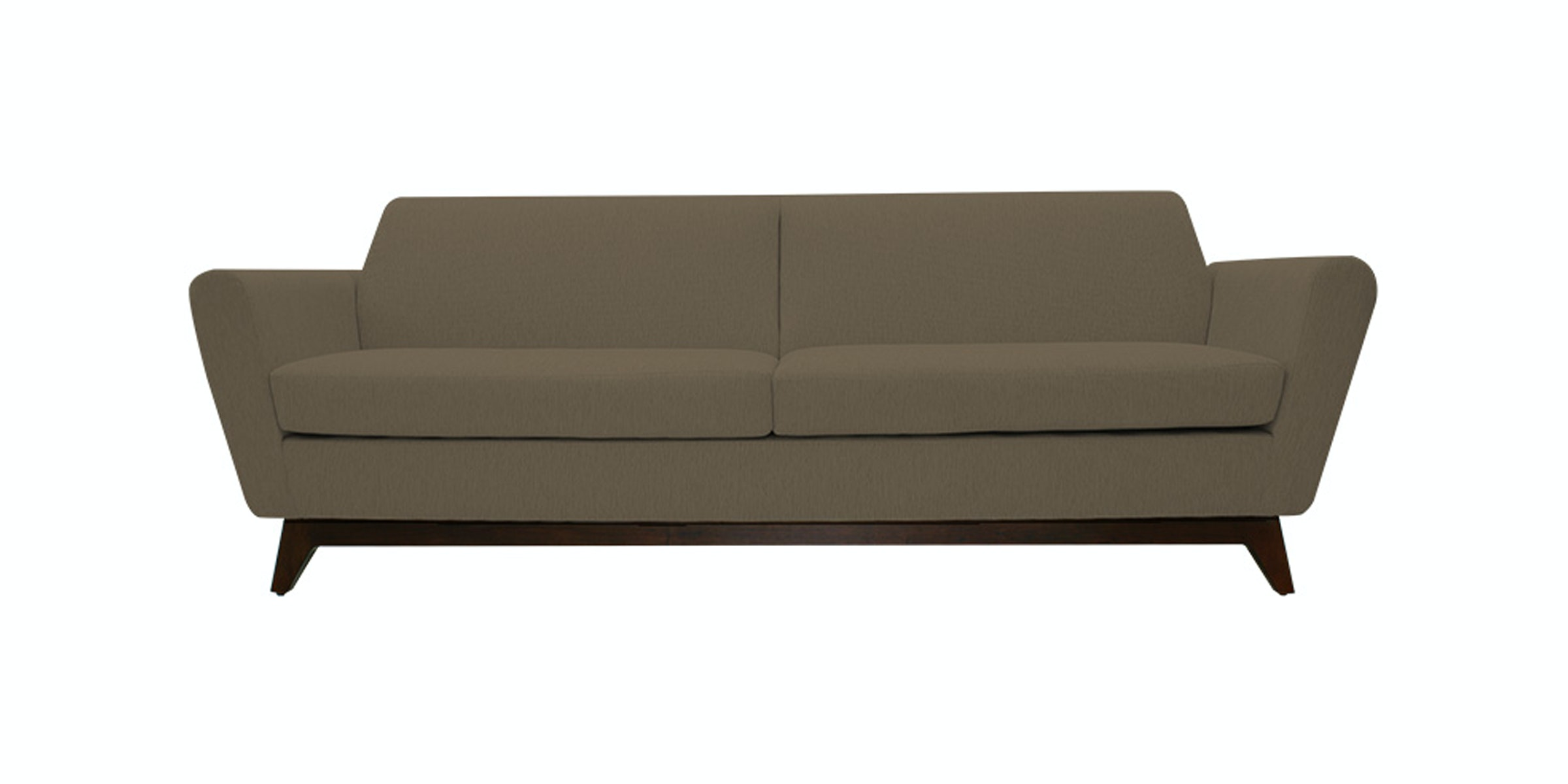 Nestudio Frankie Forte Three Seater Sofa Tuscan Tan