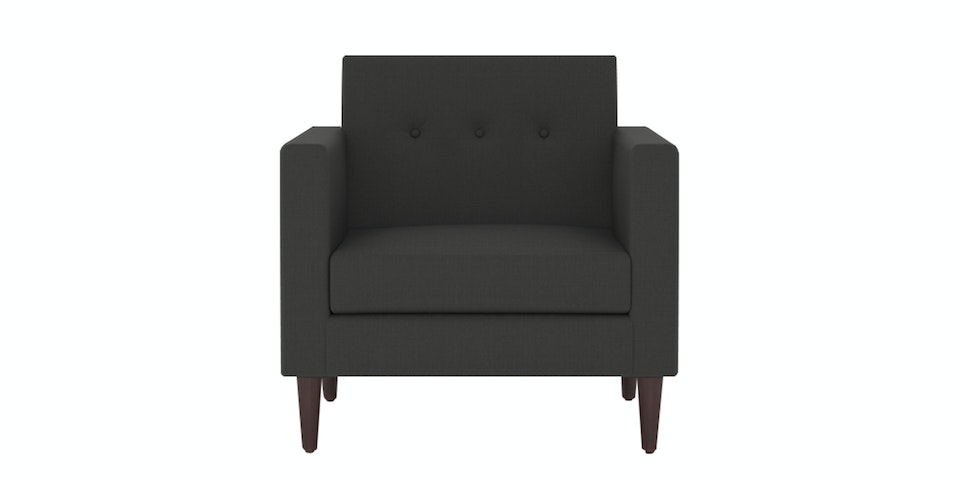 Nestudio Sofa - Nestudio Jimmy Jones One Seater Sofa Granite Grey Nestudio