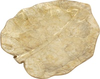 Nestudio Elam Taro Leaf Decorative Plate