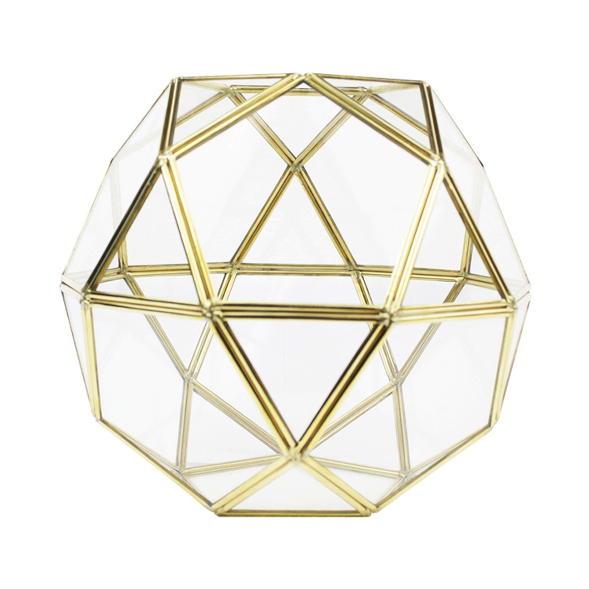 Nestudio Hope Lantern Brass