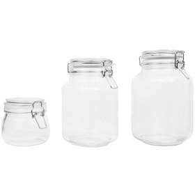 Nestudio Kane Glass Jar [Medium 1000 ml]