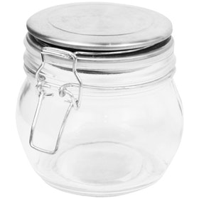 Nestudio Keaton Glass Jar [Small 400 ml]