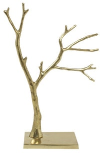 nestudio Nestudio Adonna Wood Branch Metal Figurine