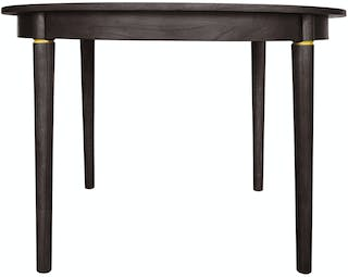 nestudio Meja Makan - Nestudio Thompson Round Dining Table - Smokey Brown