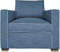 Nestudio Nestudio Jeannie One Seater Sofa - Aegean Sea
