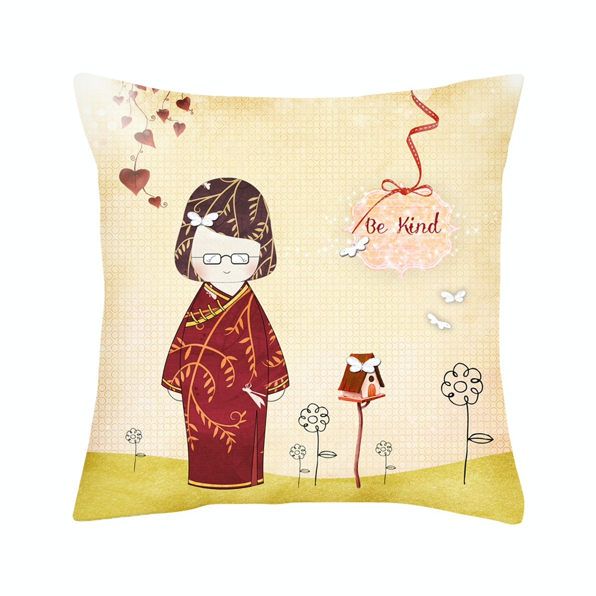 Rumah Odelle Be Kind Cushion Cover 40cmx40cm (Cover)