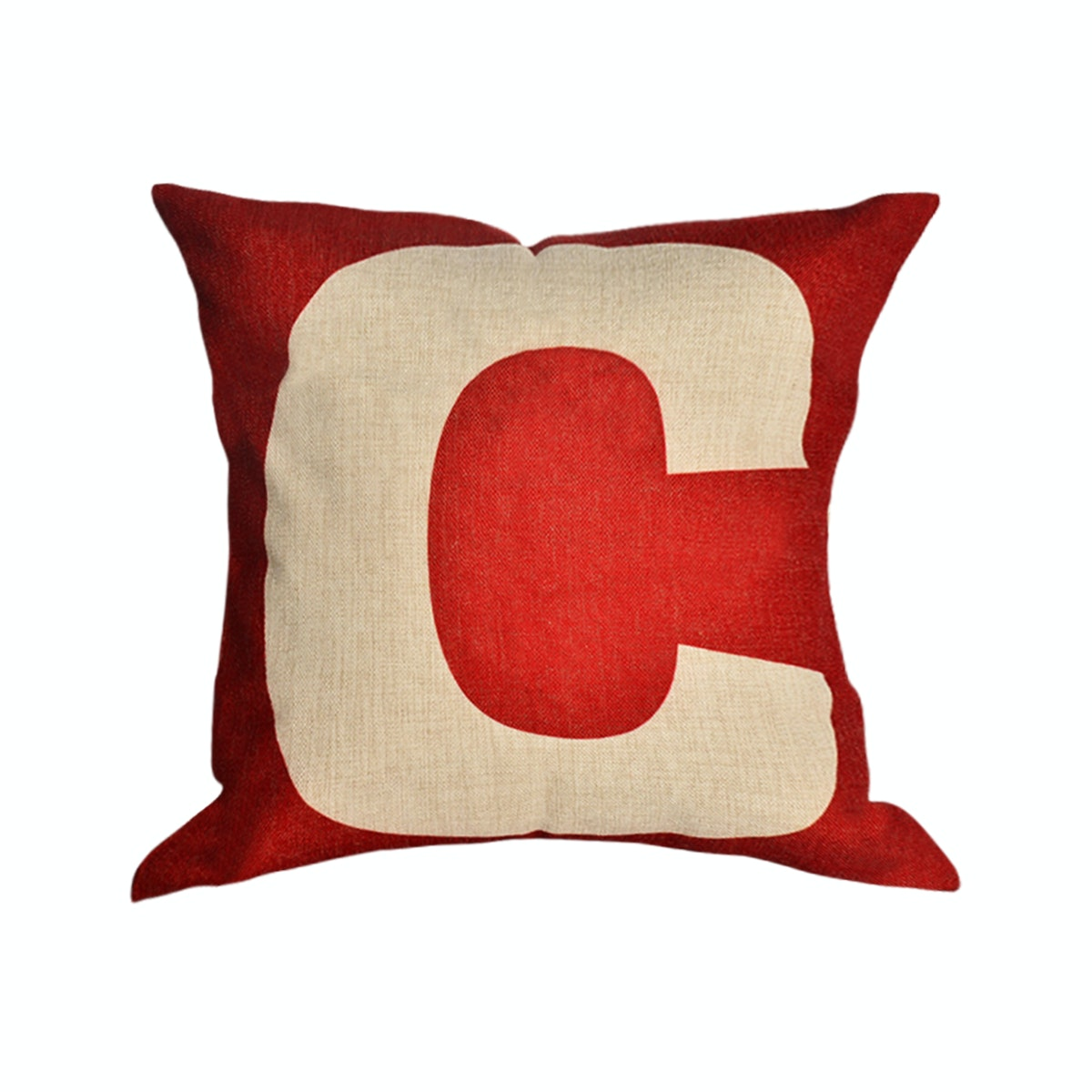 OLC Bantal Sofa  Decoration Motif Capital C Q3383