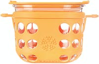 Life Factory 2 Cup Food Storage 475ml - Orange