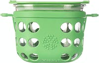 Life Factory 2 Cup Food Storage 475ml - Grass Green