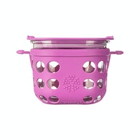 Life Factory 2 Cup Food Storage 475ml - Huckleberry