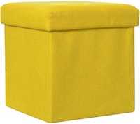 OLC Storage Box Chair Yellow