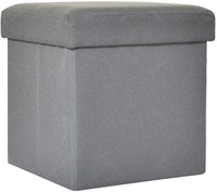 OLC Storage Box Chair Light Grey