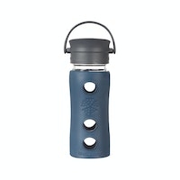 Life Factory Life Factory 12oz Glass Bottle 350ml Cafe Series - Marine