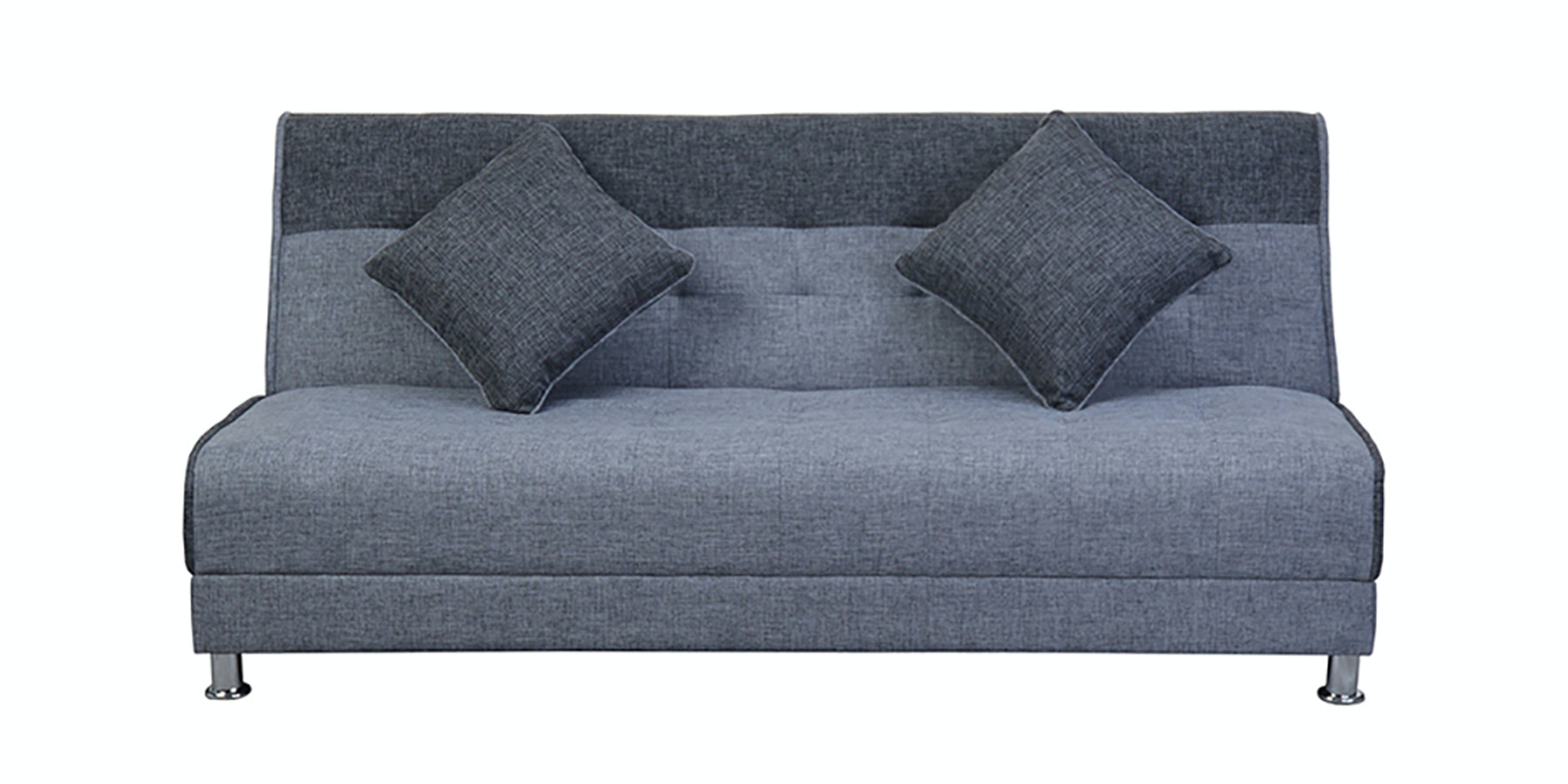 OLC Sofabed Ivanka Two Tone - Soft Grey